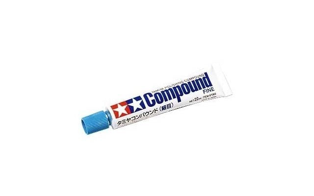 Tamiya - Polishing Compound Fine