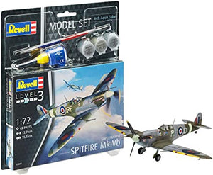 Revell - 1/72 Spitfire Mk. Vb (Model Set Incl. Paint)