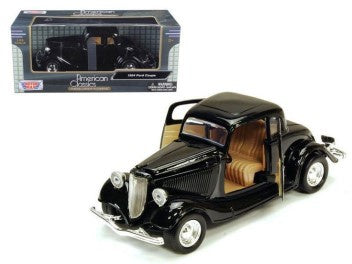 Motor Max - 1/24 Chevrolet Coupe 1939 (Black)