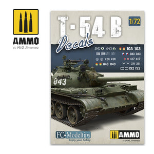 AMMO - 1/72 T-54B. Decals