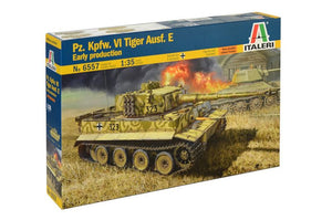 Italeri - 1/35 Pz.Kpfw.VI Ausf. E Tiger Early production