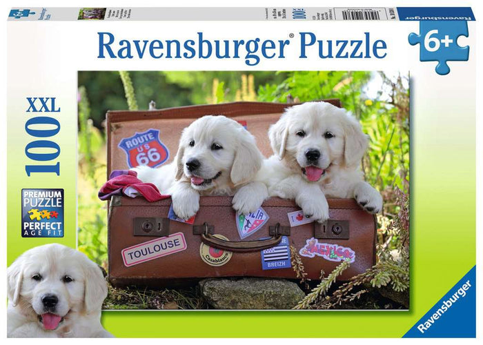Ravensburger - Traveling Pups (100pcs)