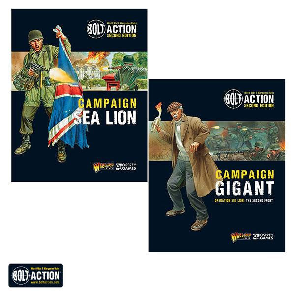 Warlord - Operation Sea-Lion & Gigant (Bundle)