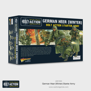 Warlord - German Heer Winter Starter Army (Plastic/Metal)