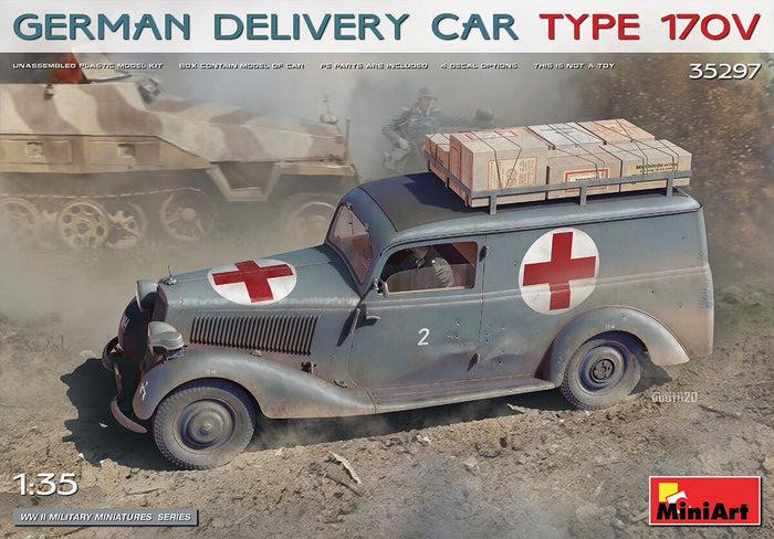 Miniart - 1/35 Delivery Car Type 170v