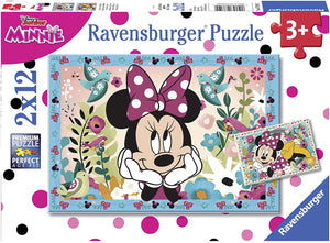 Ravensburger - Disney Mickey Mouse: Flowers for Minnie Mouse (2x12pcs)