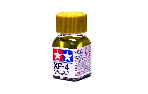 Tamiya - XF-4 Yellow Green Enamel