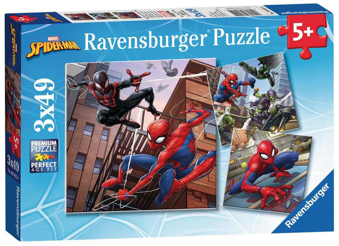 Ravensburger - Spider-Man in Action (3x49pcs)