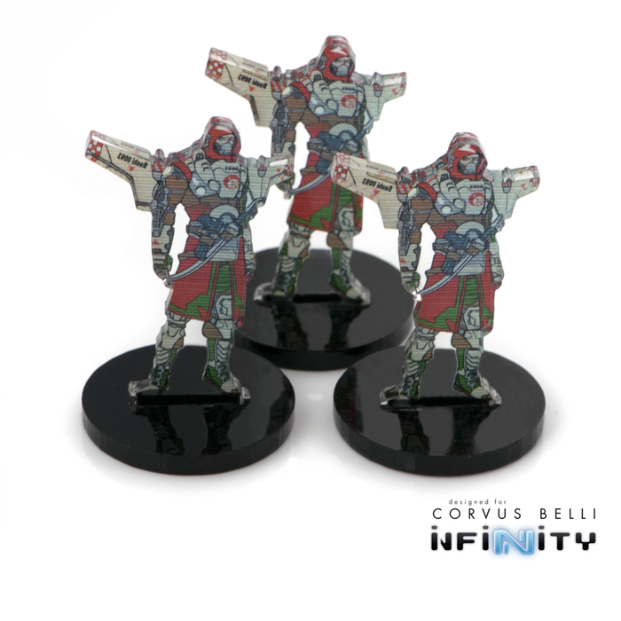 Warsenal - 3D Holoprojector / Decoy Markers - Bashi Bazouk