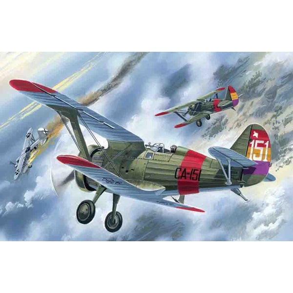 ICM - 1/72 I-15 Spainish Fighter