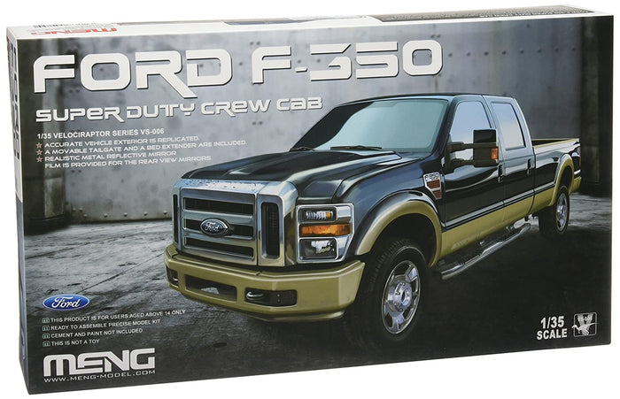 MENG - 1/35 Ford F-350 Super Duty Crew Cab