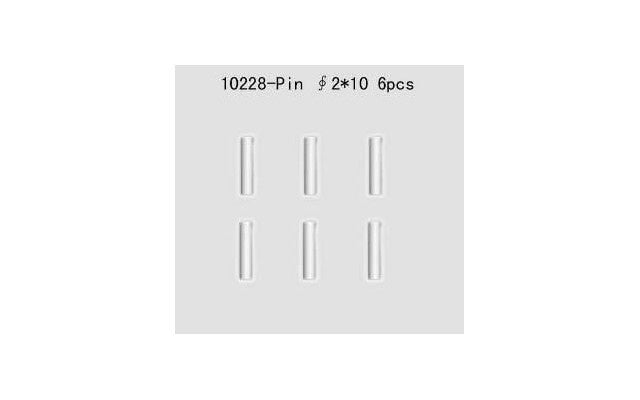 VRX - 10228 Pin 2x10mm for Buggy / Truck / Octane (6)