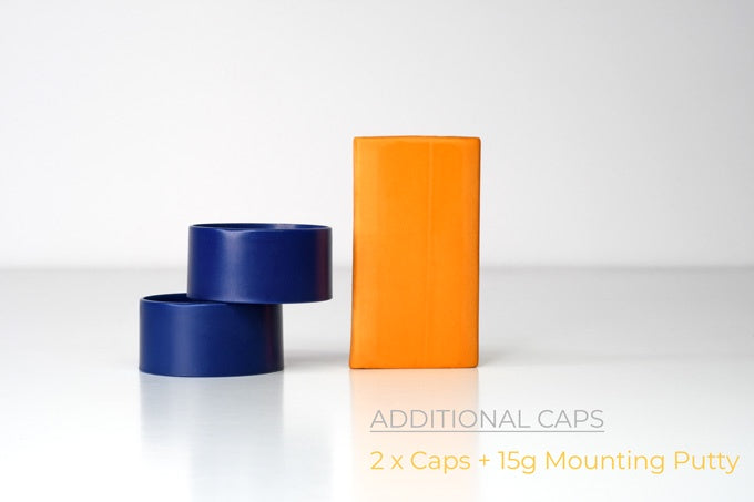 RedGrass Games - Painting Handle - 2x Additional Caps (Blue)