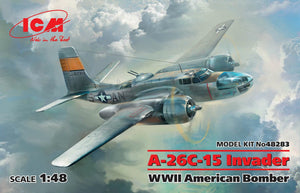 ICM - 1/48 A-26C-15 Invader WWII (American Bomber)