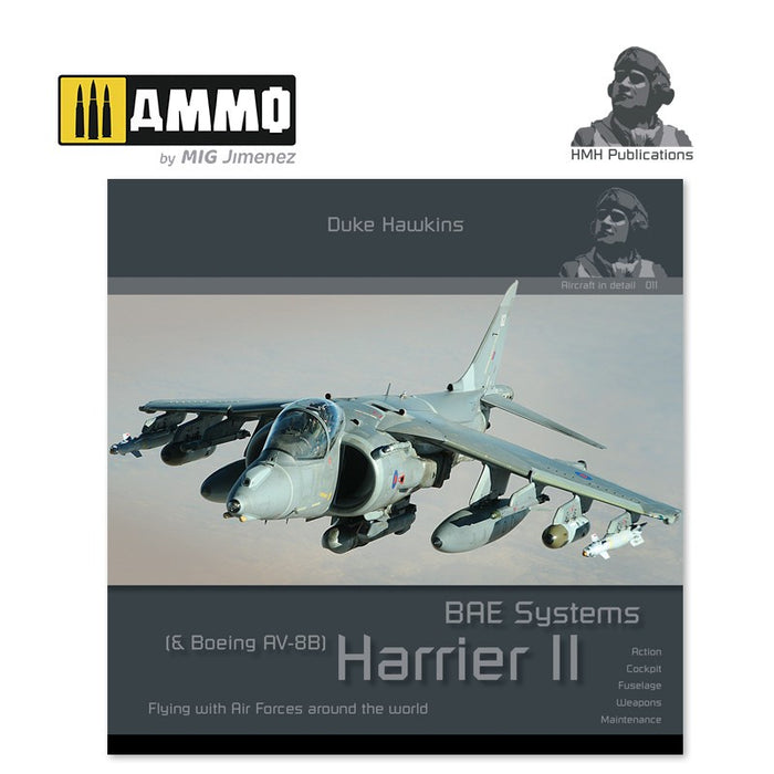 Aircraft in Detail: BAE Systems Harrier II & Boeing AV-8B Harrier II