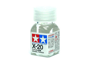 Tamiya - X-20 Thinner (10ml) Enamel