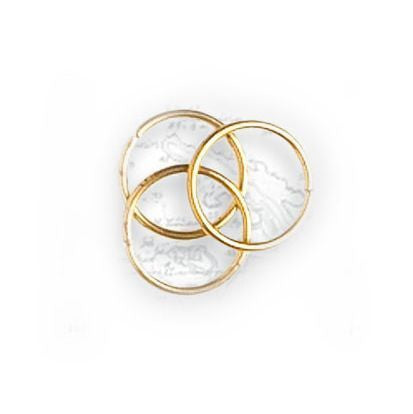 Artesania - Brass Rings 10mm (30) (was8402)