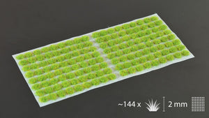 Gamers Grass - 2mm Tufts - Bright Green (Small)