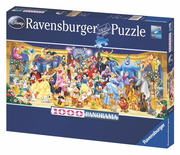 Ravensburger - Disney Group Photo (1000pcs)