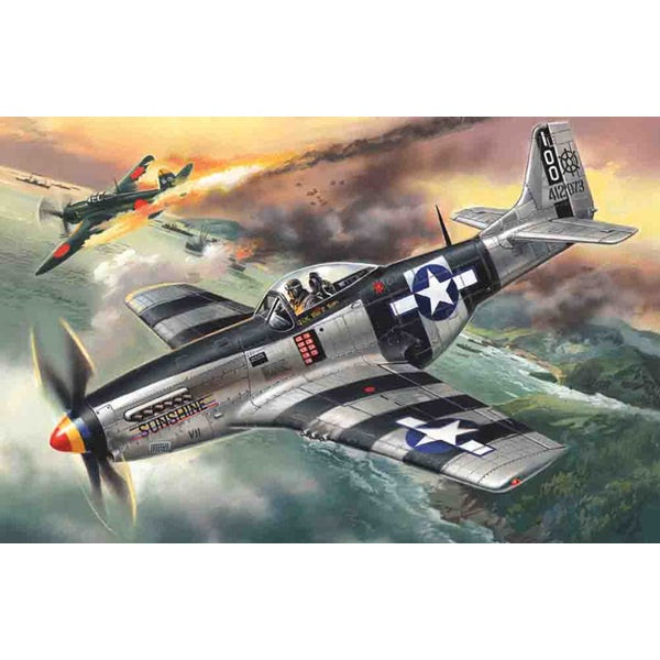 ICM - 1/48 Mustang P-51k WWII Fighter