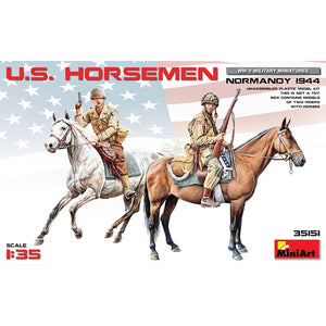 Miniart - 1/35 U.S. Horseman Normandy