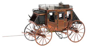 Metal Earth - Wild West - Stage Coach