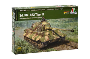 Italeri - 1/56 King Tiger (incl. 1 tank commander)