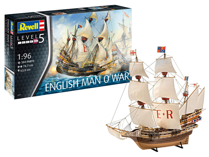 Revell - 1/96 English Man Of War