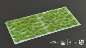 Gamers Grass - 4mm Tufts - Green (Wild)