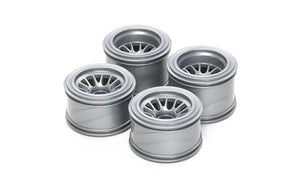 Tamiya - F104 Mesh Wheels for Rubber Tyres