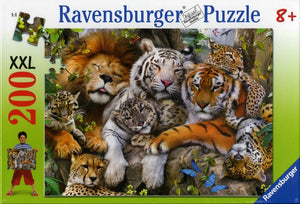 Ravensburger - Big Cat Nap (200pcs)