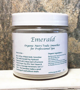 Emerald Organic Step 2  Pro Nutri-Vedic Smoother and Gommage Mask
