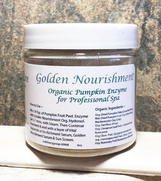 Golden Nourishment Step 3 Pumpkin Enzyme 2oz.