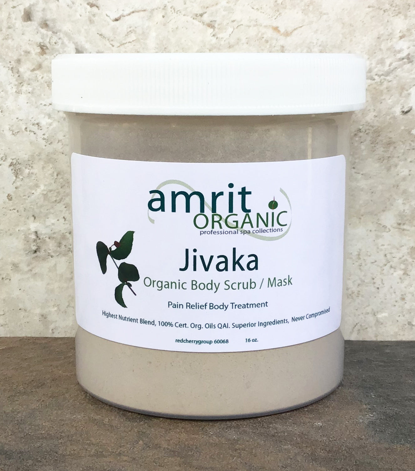 Jivaka Treatment Scrub and Mask 16oz.