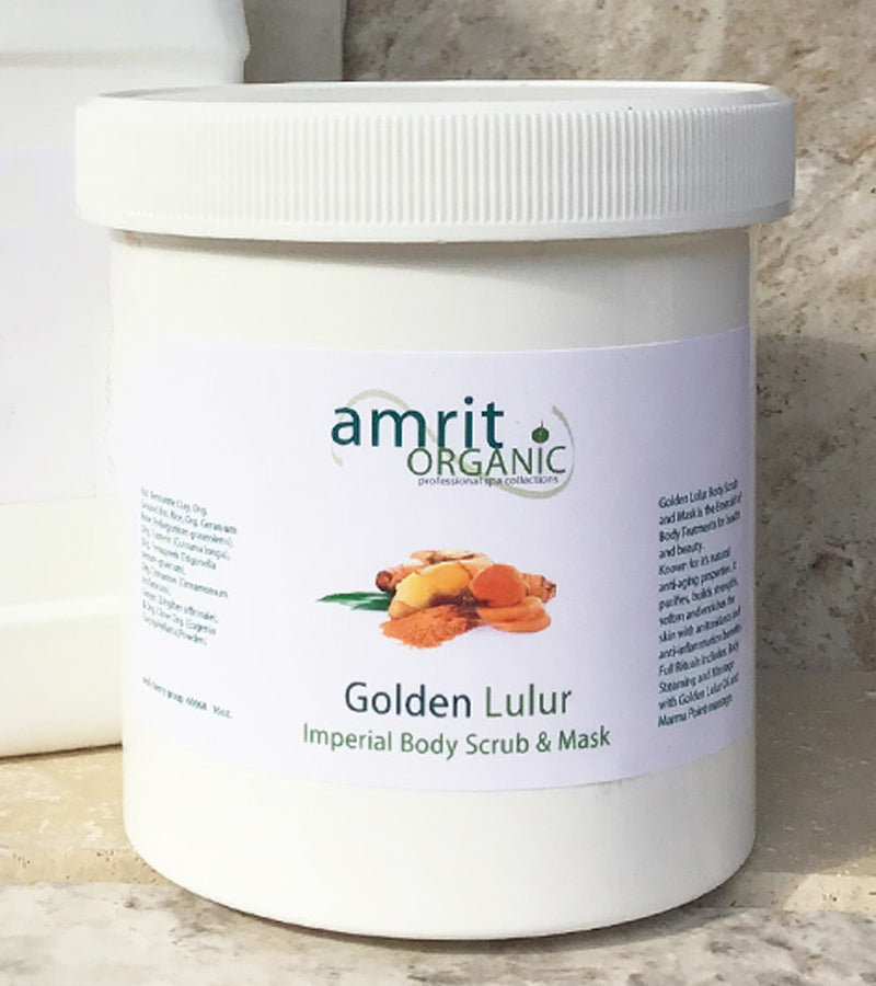 Golden Lulur Pro Body Scrub and Mask