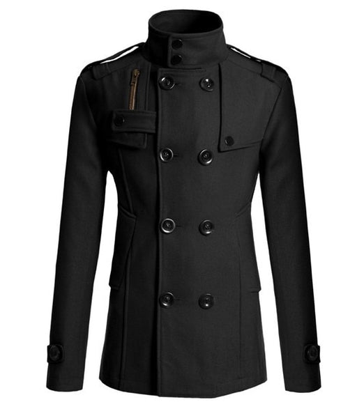 MRMT 2020 Brand New Men's Mao Wool Overcoat for Male Long Suit Woolen Windbreaker Men's Coat Outer  Wear Clothing