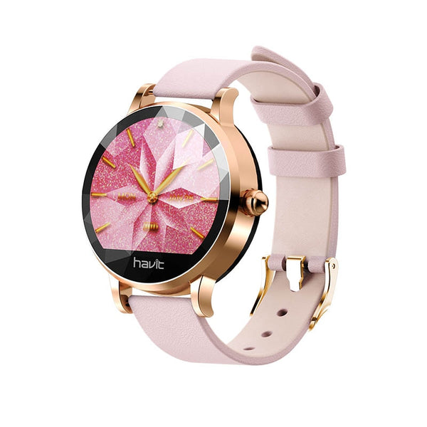 Havit smart watch women sports fitness heart rate/blood pressure/receive whatsapp/calls H1105