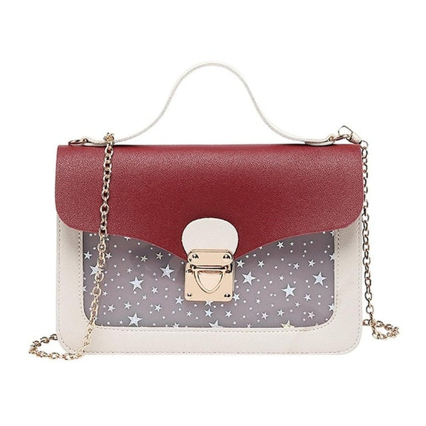 Women Mini Small Square Pack Shoulder Bag Fashion Star Sequin Designer Messenger Crossbody Bag Clutch Wallet Handbags Sac