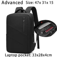 EURCOOL NEW Men Travel Backpack Multifunction USB Charging 15.6 inch Laptop Backpacks for Teenage Male Mochila Backpack 2076