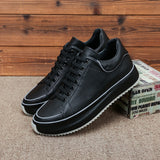 Autumn winter High Quality Genuine Leather casual shoes men all-match cowhide breathable sneaker fashion boots Leisure shoes