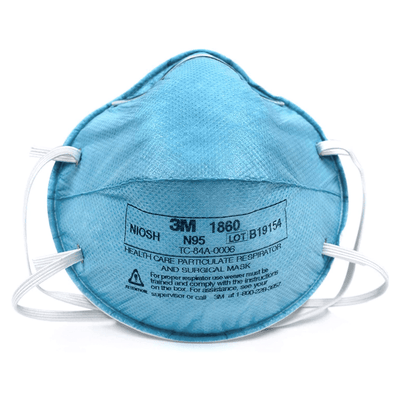 3M N95 1860 Face Mask - Particulate Respirator (20/Box)