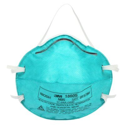 3M N95 1860S Face Mask - Particulate Respirator (20/Box)