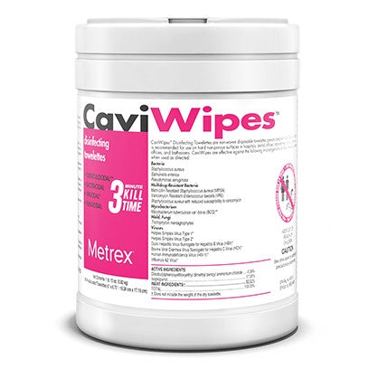 CaviWipes Disinfecting Towelettes Large 160 wipes