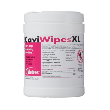 CaviWipes Disinfecting Towelettes XL 60 wipes