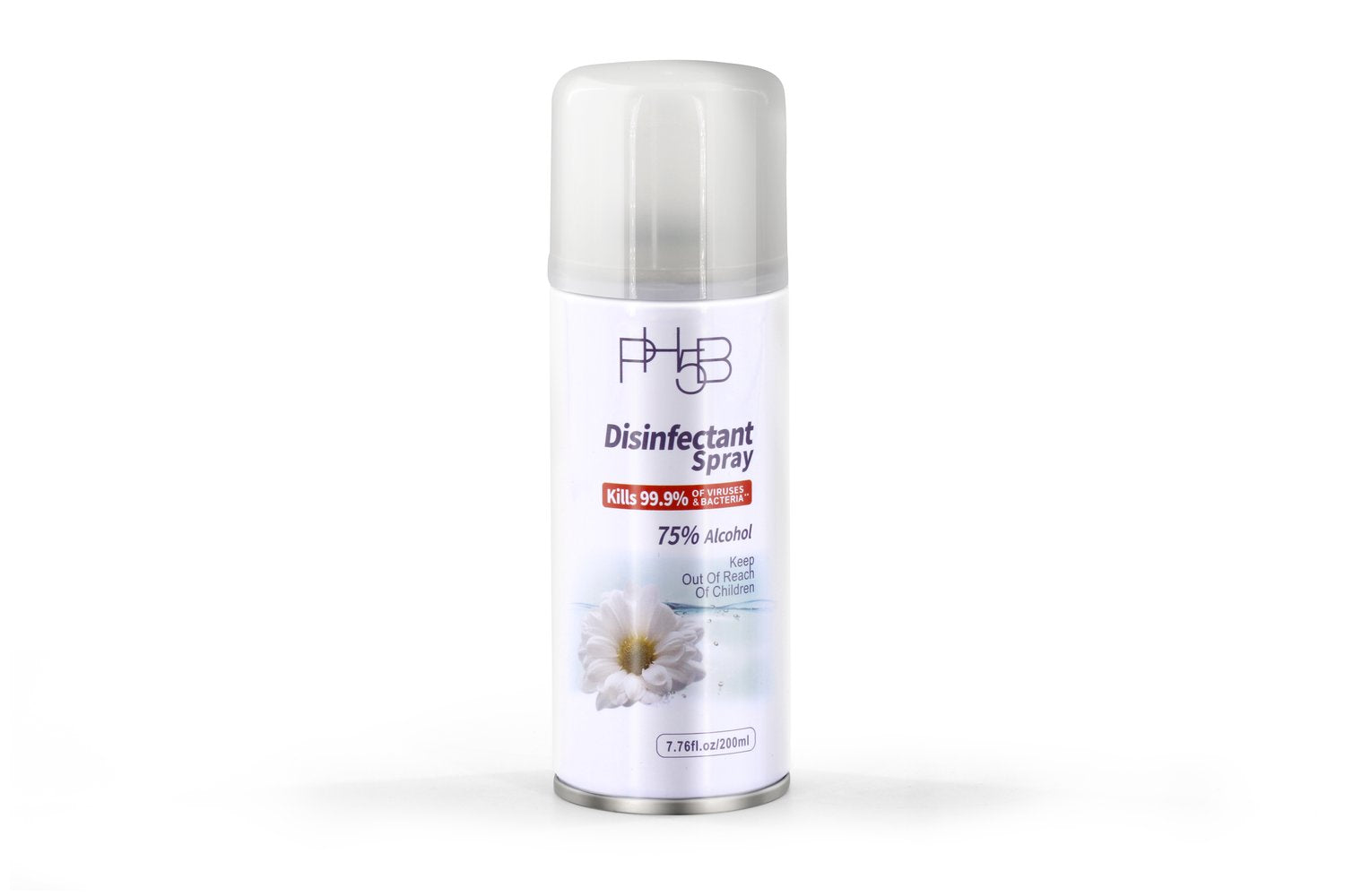 Ph5b 75% Alcohol Aerosol Disinfectant spray 7.75oz