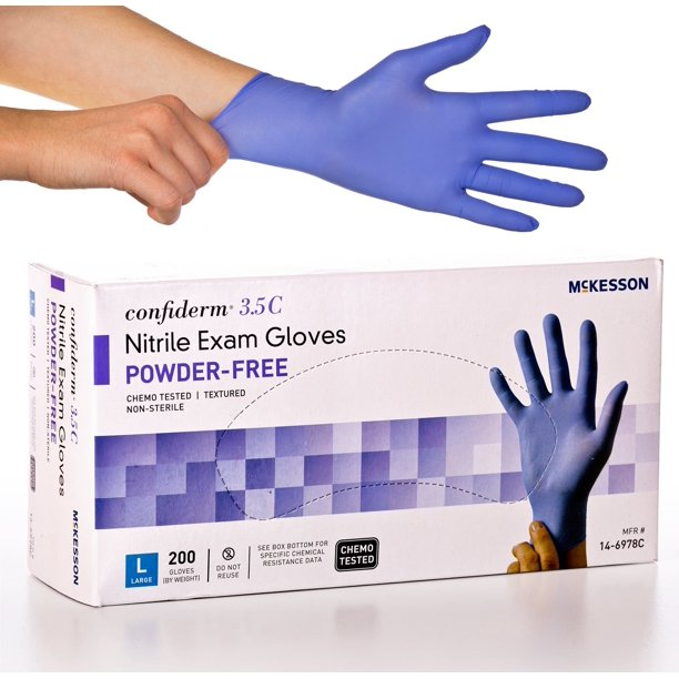 Confiderm 3.5C Nitrile Exam Gloves