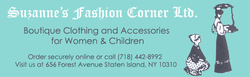Suzanne's Fashion Corner, Ltd Logo