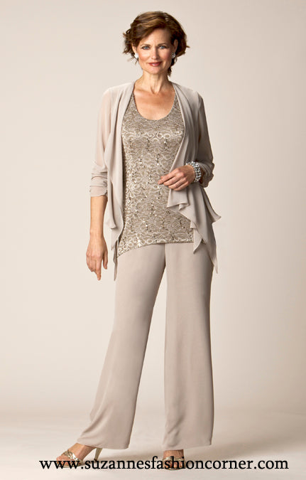 3 pc Tunic Jacket & Pants by Ursula of Switzerland