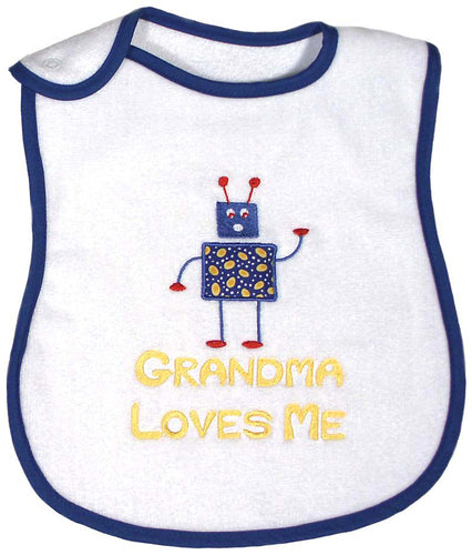 Grandma Loves Me Bib Boys