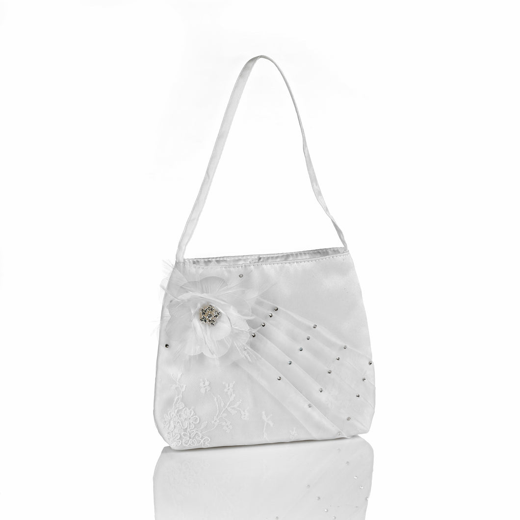 Anja's Dream White Organza Purse